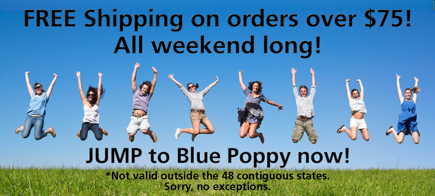 Free shipping on orders over $75 all weekend long!