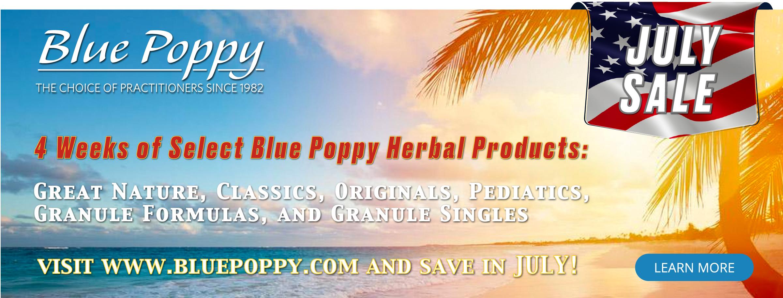 Blue Poppy Summer salea